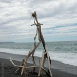 Driftwood Art: We made this Christmas Tree on a Christmas Day afternoon.