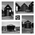 Shore Hut Study: I found the variation of these interesting in comparison to the typical rows of beach huts I have seen elsewhere.