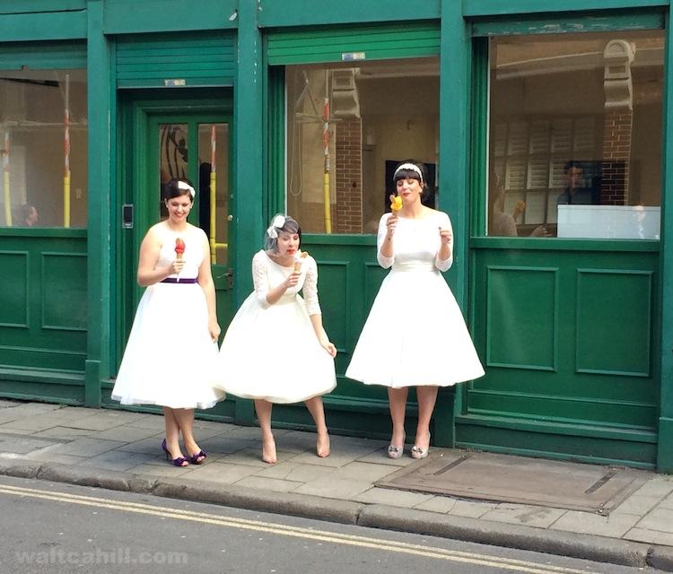 Indulgent bridesmaids