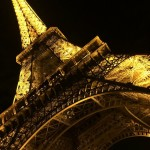 Eiffel Tower By Night: Taken on the night of completing the London to Paris cycle challenge. Superb end to a great day.