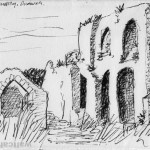 Greyfriars Monastery: Franciscan friary in Dunwich, Suffolk. The friary was founded before 1277.