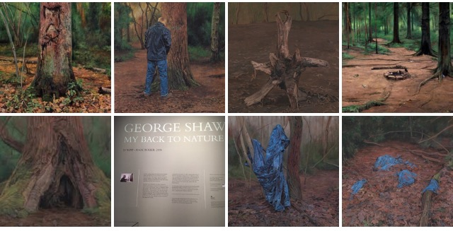 George Shaw. My Back To Nature