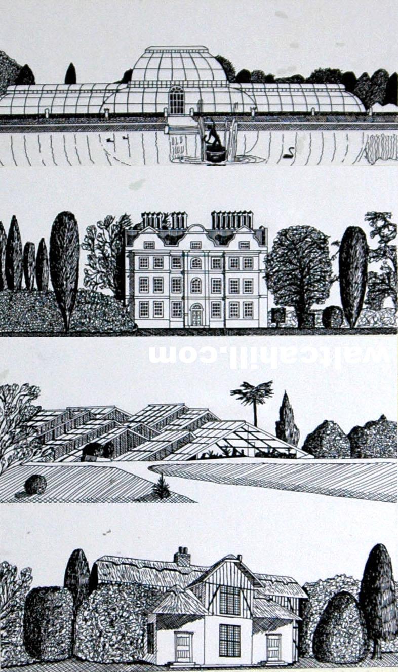 Kew Gardens Architecture