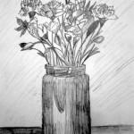 Vase Of Flowers. 19880929