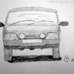 Ford car. 19880713