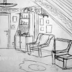 Sitting Room. 1992