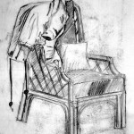 Coat and Chair. 19940609