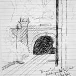 Welwyn North train tunnels. 19940624