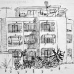 Hotel. Koss Island, Greece. 19940707