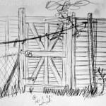 Garden gate. 19940805