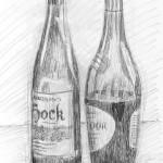 Wine Bottles. 19950108
