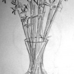 Flowers and Vase. 19951113