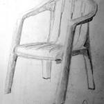 Garden Chair. Gran Canaria. 19960117