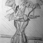 Flowers and Vase. 19960721