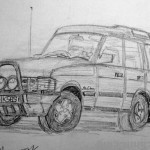 Landrover Disovery. 19960805