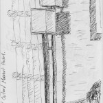 Marriot Hotel, Buford, Atlanta #1. Drawn while unable to sleep due to jetlag. 20150225