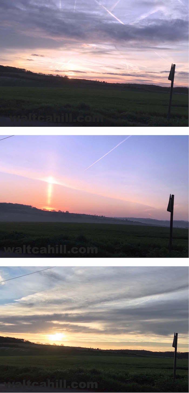 Three Village Sunrises