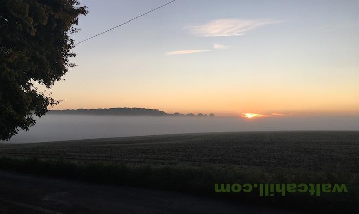 Misty Beane Valley Sunrise