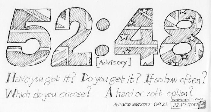 #InkTober2017 Day Twenty Two