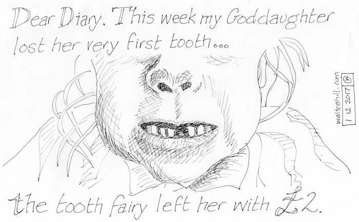 First visit from the Tooth Fairy