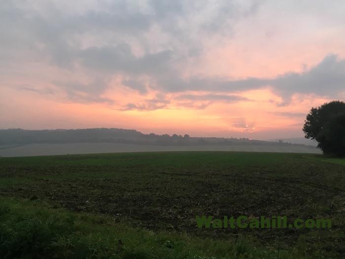 Fiery Beane Valley Sunrise