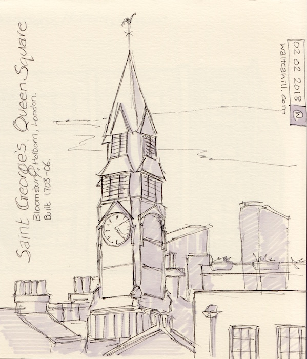 St George, Bloomsbury