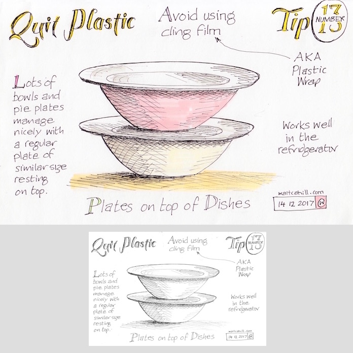 Quit Plastic: Tip Number Thirteen [adjusted and coloured]