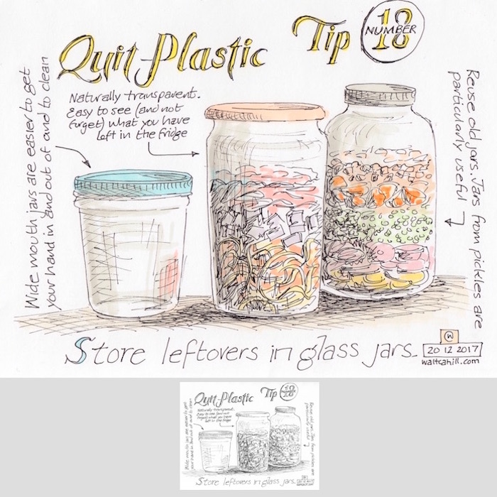 Quit Plastic: Tip Number Eighteen [adjusted and coloured]