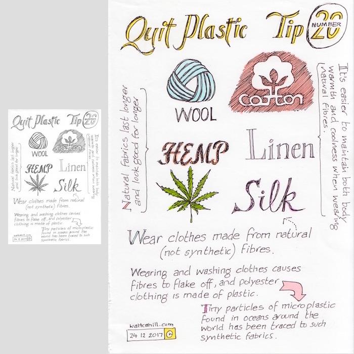 Quit Plastic: Tip Number Twenty [adjusted and coloured]