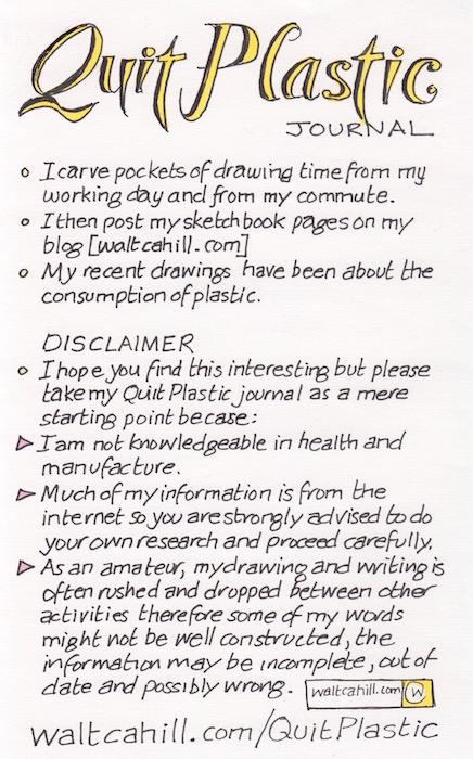 Quit Plastic Journal: Introduction
