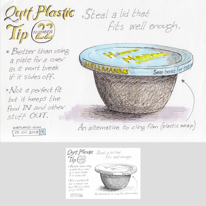 Quit Plastic: Tip Number Twenty Two [adjusted and coloured]