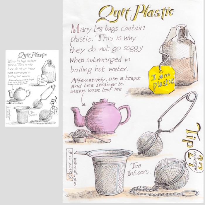 Quit Plastic: Tip Number Twenty Seven [adjusted and coloured]