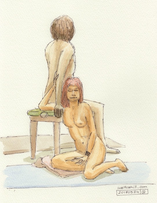 Covent Garden Life Drawing #161