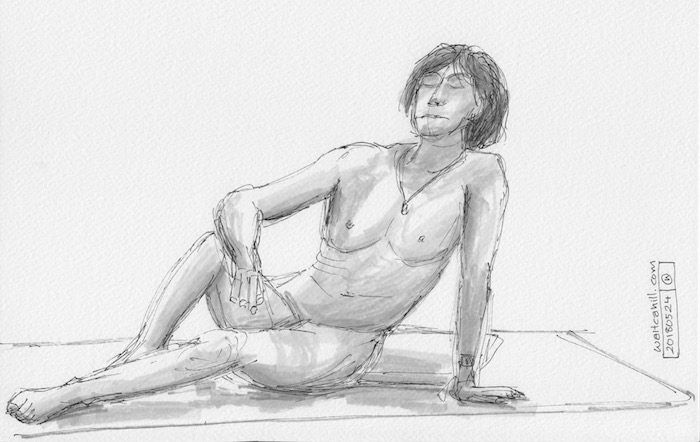 Covent Garden Life Drawing #163
