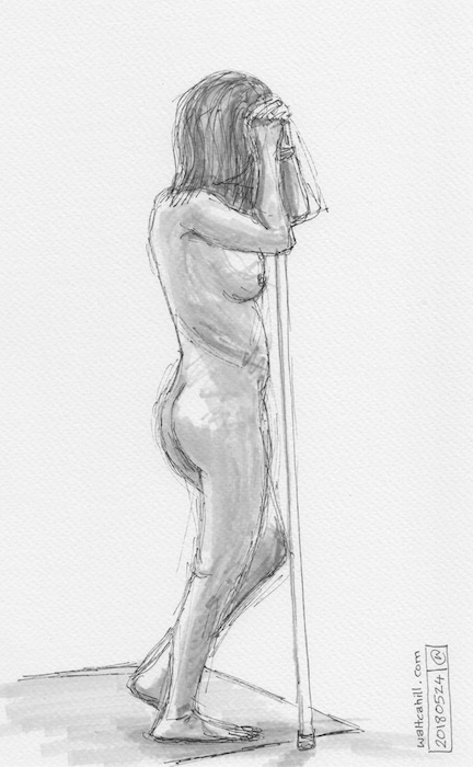 Covent Garden Life Drawing #166