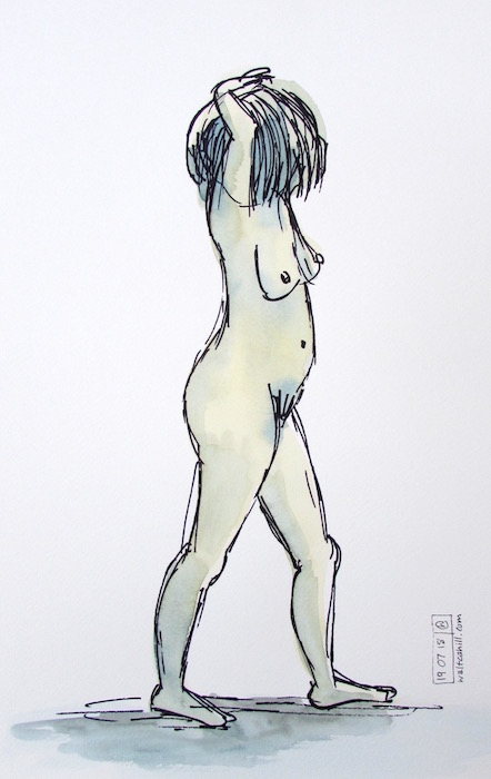 Covent Garden Life Drawing #186