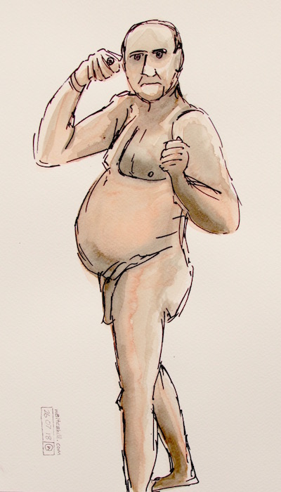 Covent Garden Life Drawing #194