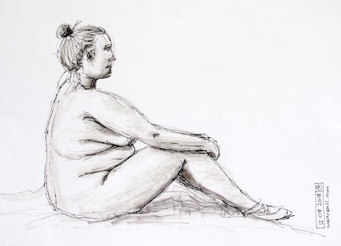 Stevenage Life Drawing #1