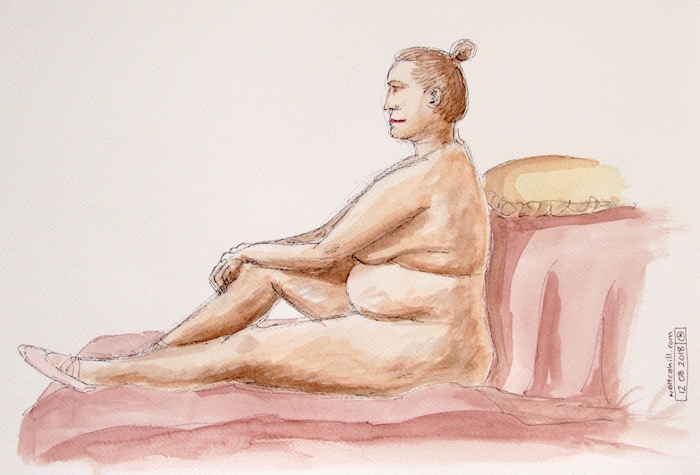 Stevenage Life Drawing #2