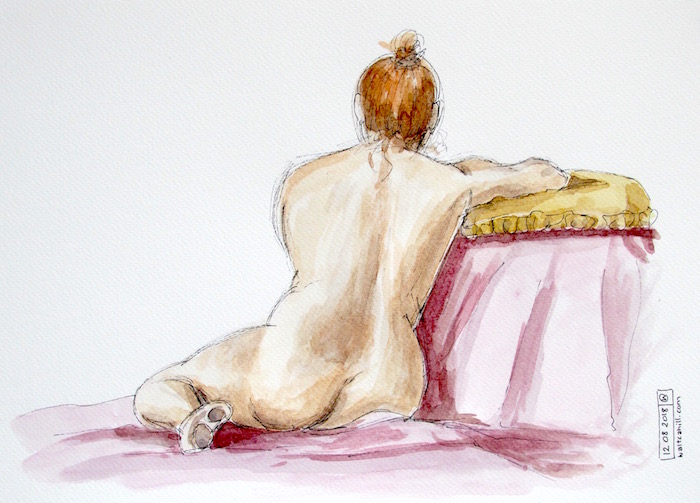 Stevenage Life Drawing #3