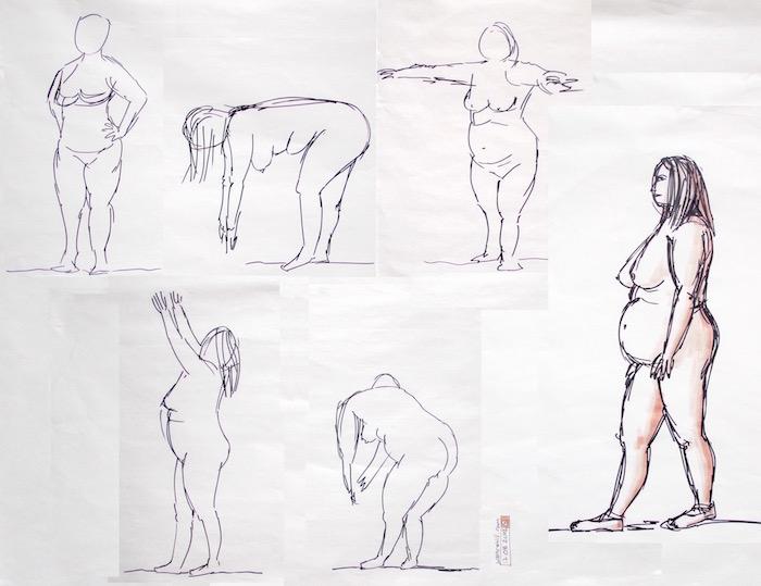 Stevenage Life Drawing #8