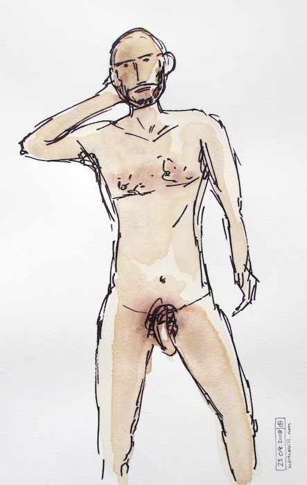 Covent Garden Life Drawing #203