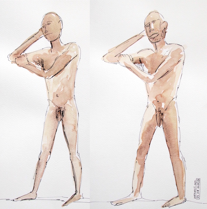 Covent Garden Life Drawing #208