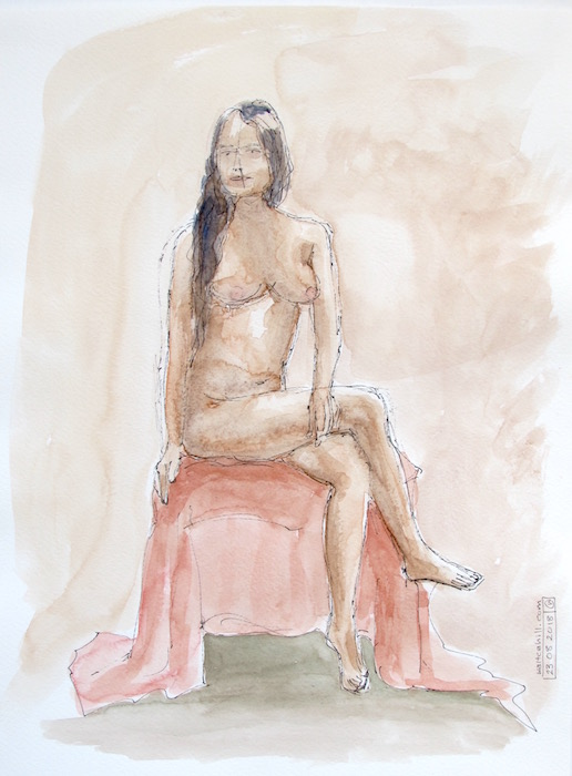 Covent Garden Life Drawing #205