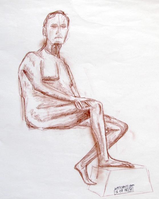 Stevenage Life Drawing #16