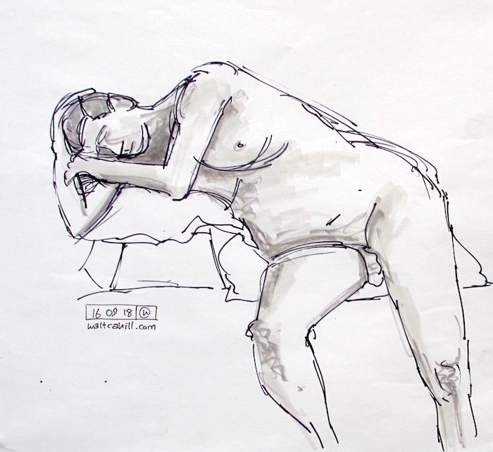 Stevenage Life Drawing #18