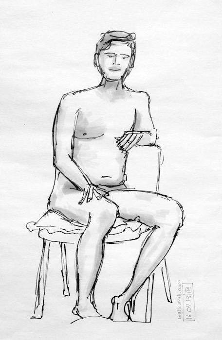 Stevenage Life Drawing #22