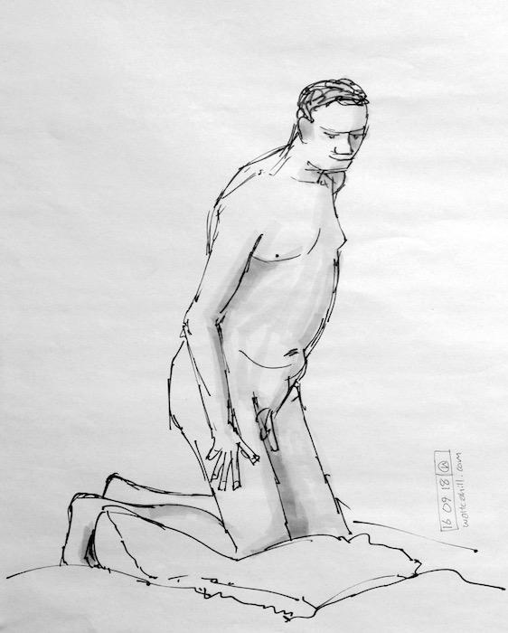Stevenage Life Drawing #23