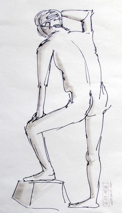 Stevenage Life Drawing #25