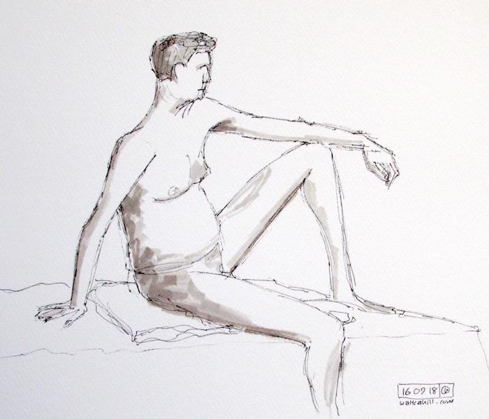 Stevenage Life Drawing #26